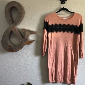 Lacey Sweater Dress